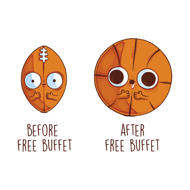 Before and After Free Buffet