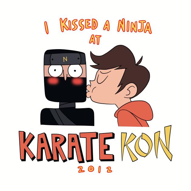 I Kissed a Ninja at Karate-Kon