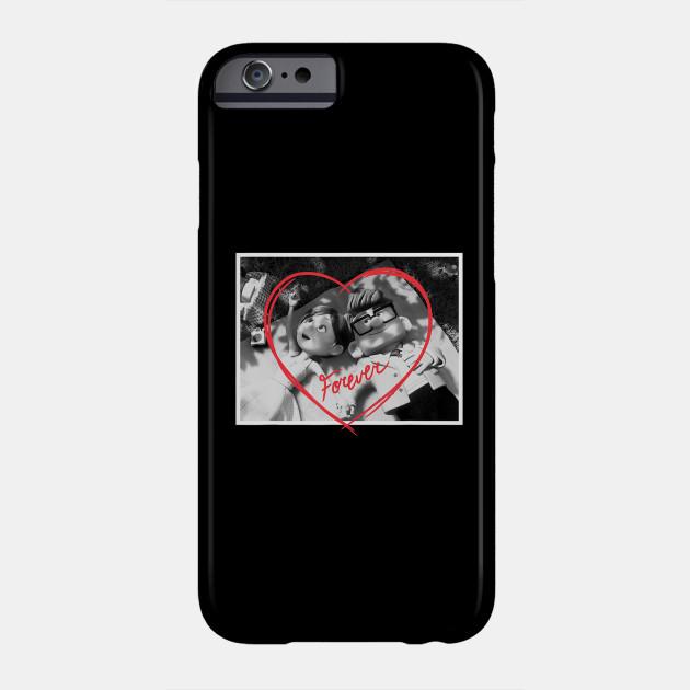 Disney PIXAR UP Carl and Ellie Forever Heart Phone Case