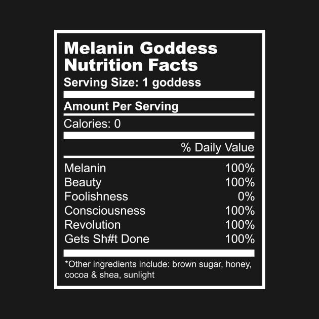Melanin Goddess Nutrition Facts