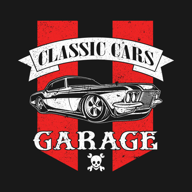 Bold Masculine Automotive Logo Design For Diy Garage By: Classic Car Collector