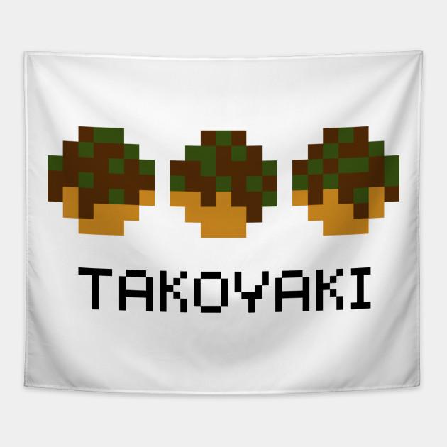 Takoyaki Pixel Art