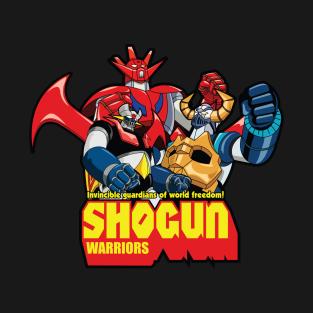 Shogun Warriors t-shirts