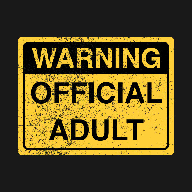 Funny Official Adult 18th Birthday Gag Gift