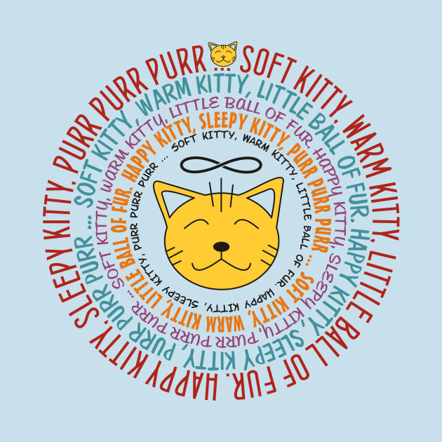 Soft Kitty Song - colored