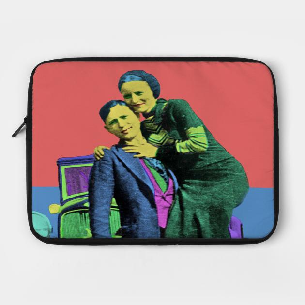 Bonnie and Clyde Pop Art