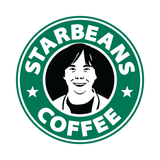 Starbeans Coffee Old Logo T Shirt