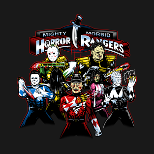 Horror Rangers t-shirts