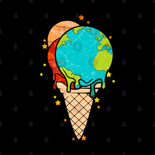 Ice Cream with Planets