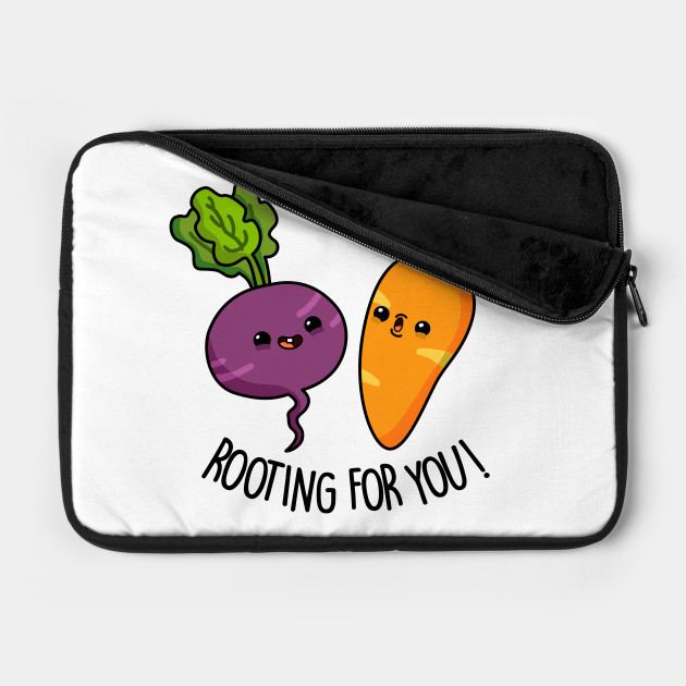 Rooting For You Cute Vegetable Pun