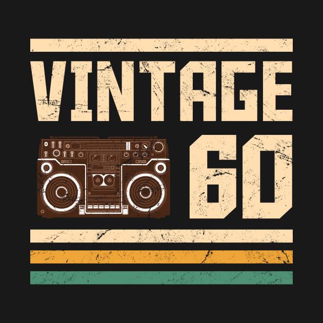 Vintage 1960  58 years birthday