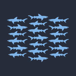 School of Sharks t-shirts