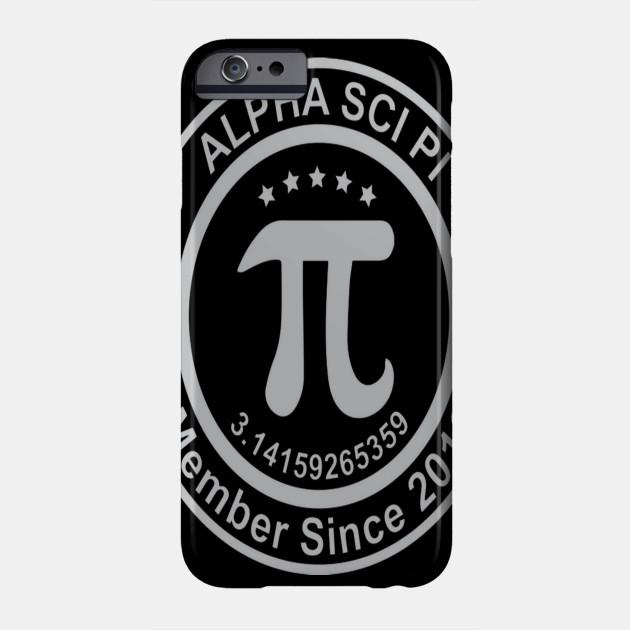 Alpha Sci Pi Pi Pi Pi Math Science T Shits Fun Phone Case