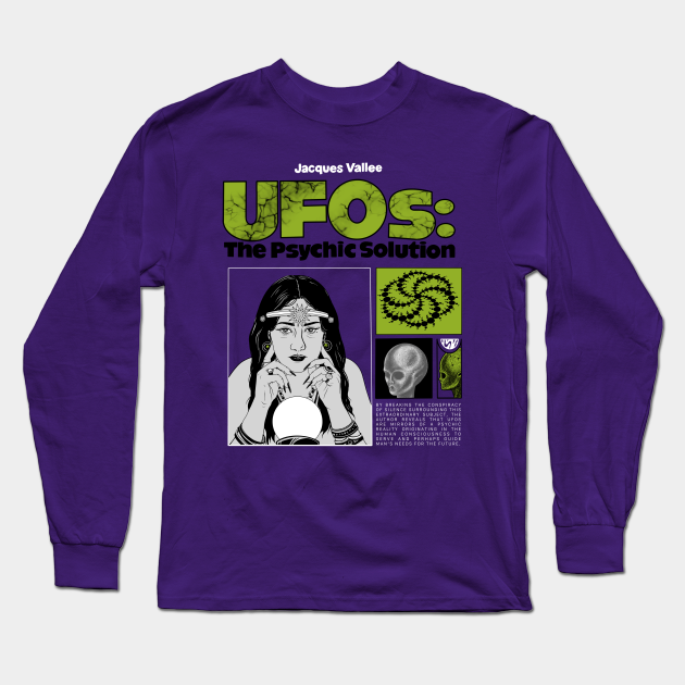 UFOs: The Psychic Solution in Green/Purple