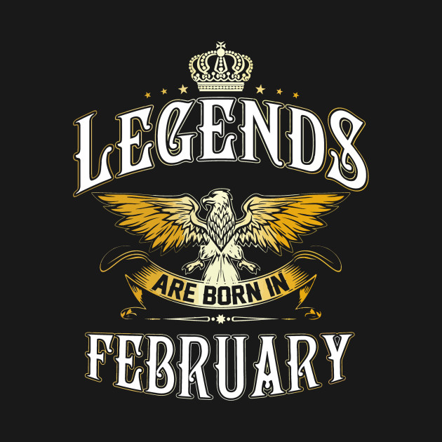 001c3ab37 legends are born in February T-shirt - All Men Are Created Equal ...
