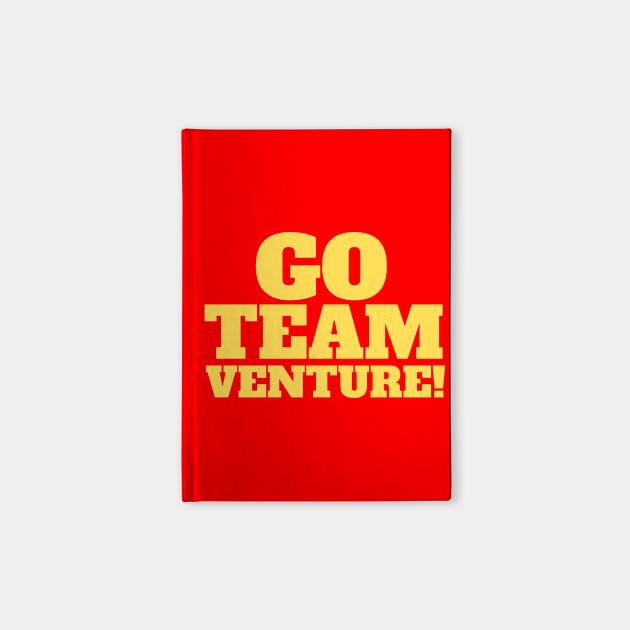 Go Team Venture! Yellow Slogan Tee