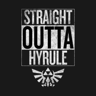 Straight Outta Hyrule t-shirts