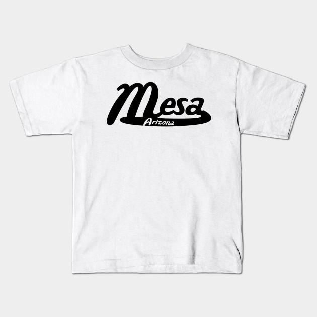Mesa Arizona Vintage Logo Kids T-Shirt