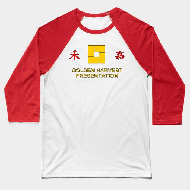 4fa36547986338 Golden Harvest Productions - Kungfu - Baseball T-Shirt