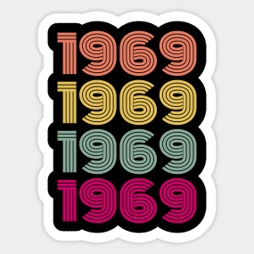 Vintage 50th Birthday Gift Sticker