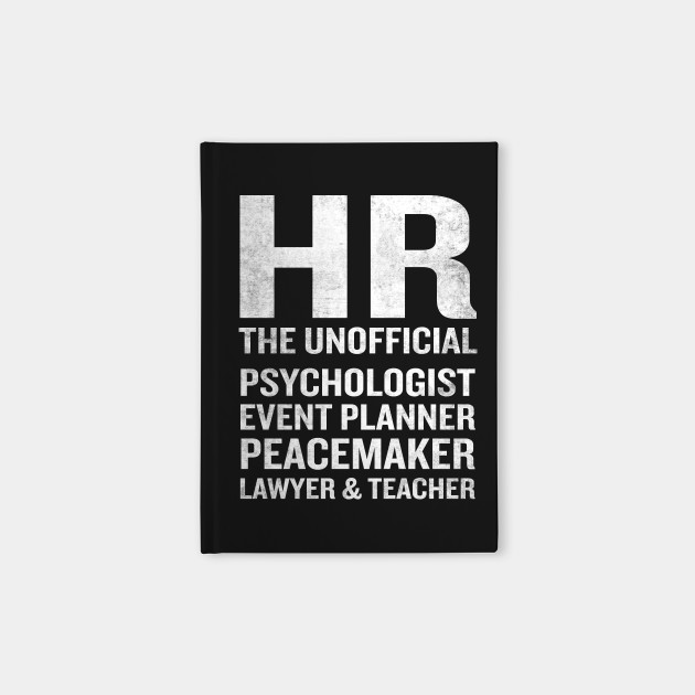 Human Resources Funny HR Unofficial Quote Job Joke by interdesign
