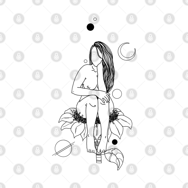 Sitting on a flower