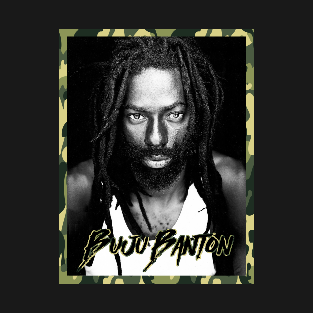 Buju Banton - Reggae Rastafari Jah Army Roots Shirt