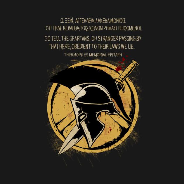 The Spartan Epitaph