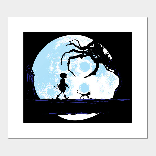 Perfect Moonwalk Coraline Posters And Art Prints Teepublic