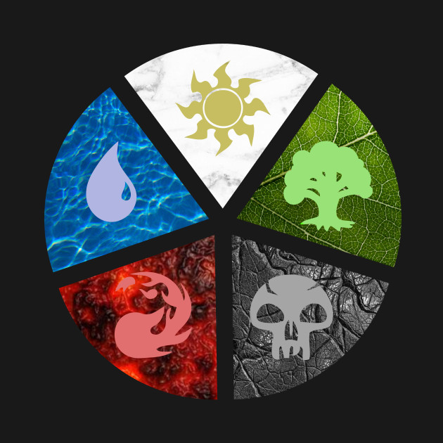 MTG Wheel of colors