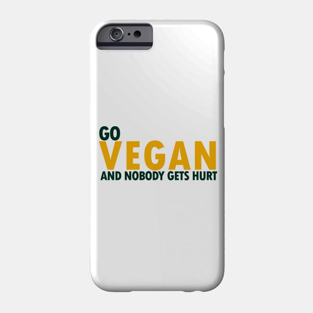 Go Vegan - Vegan, Veggies - D3 Designs