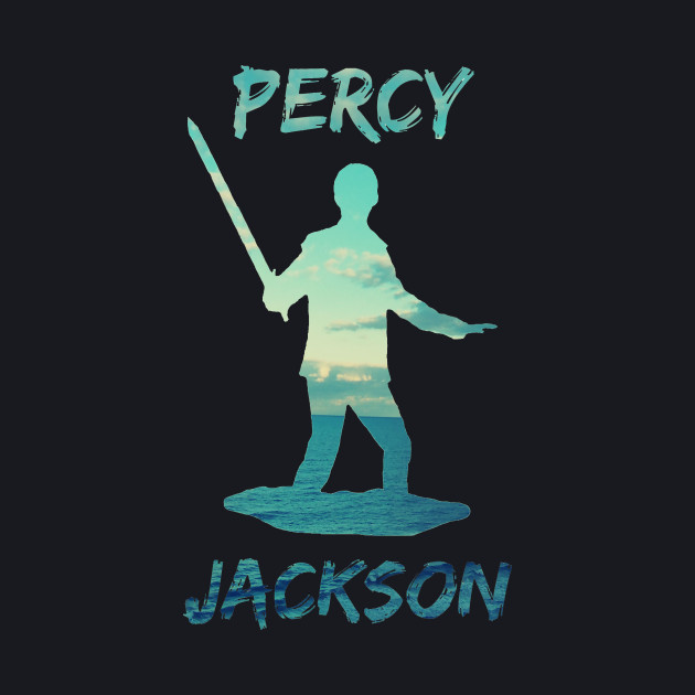 Percy Jackson Ocean/ Sea Design Tee