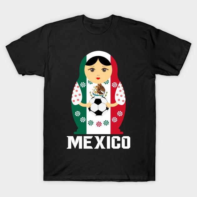 Matryoshka Russian Doll Mexico Football Shirt