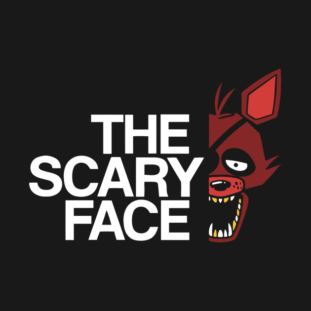 The Scary Face – F T-Shirt