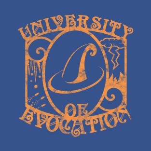 University of Evocation t-shirts