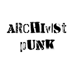 Archivist Punk t-shirts
