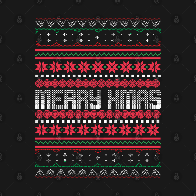 Merry Xmas Ugly Christmas Sweater, Shirts & Gifts