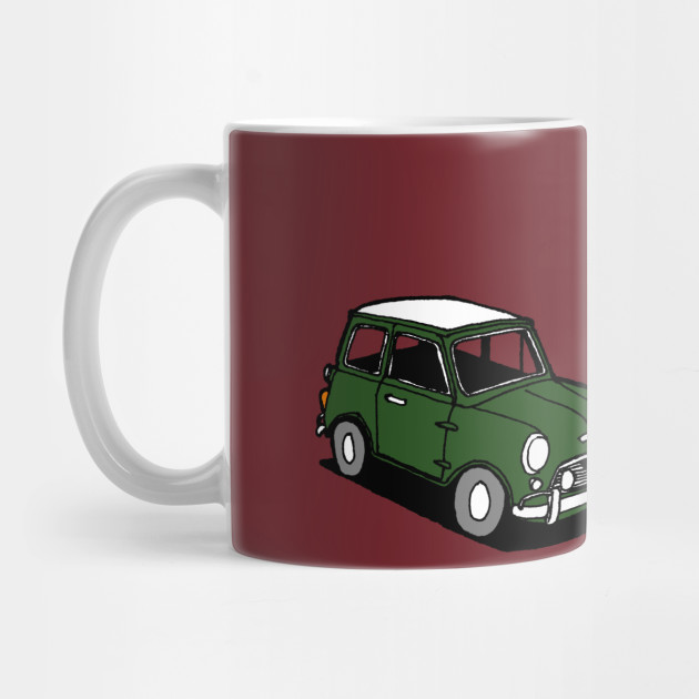 1966 Mini Cooper - Mini Cooper - Mug | TeePublic