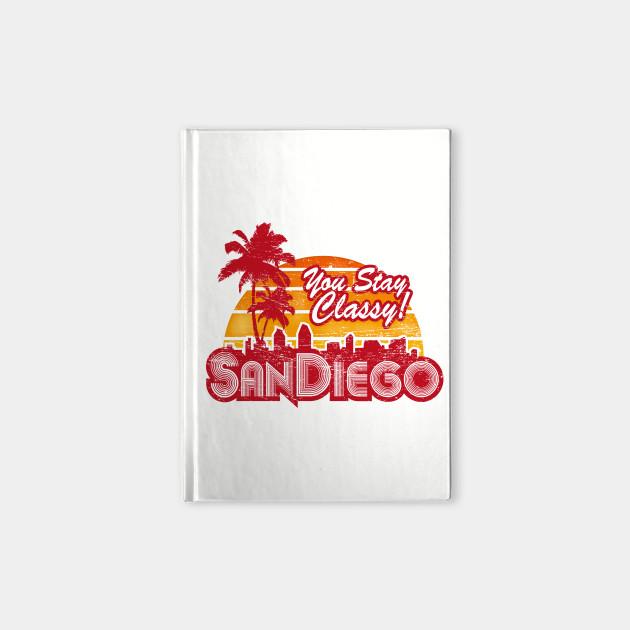 You Stay Classy! San Diego (worn look)