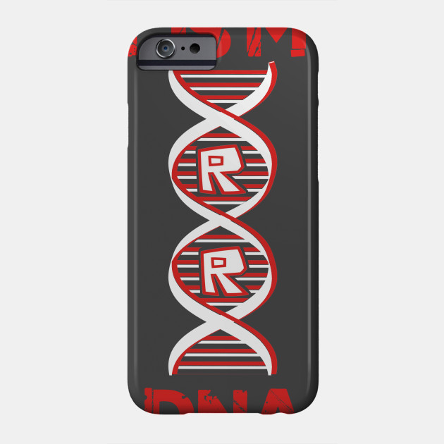 Roblox In My Dna Roblox Phone Case Teepublic