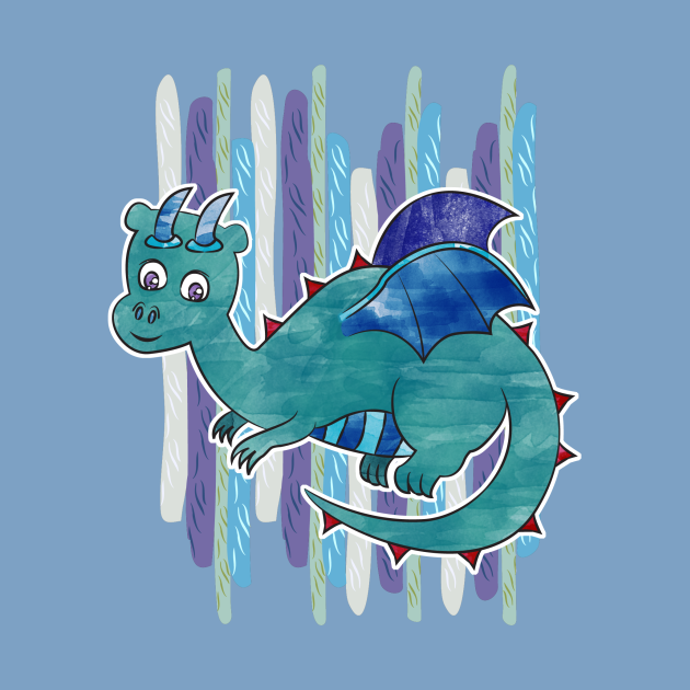 Watercolor Dragon