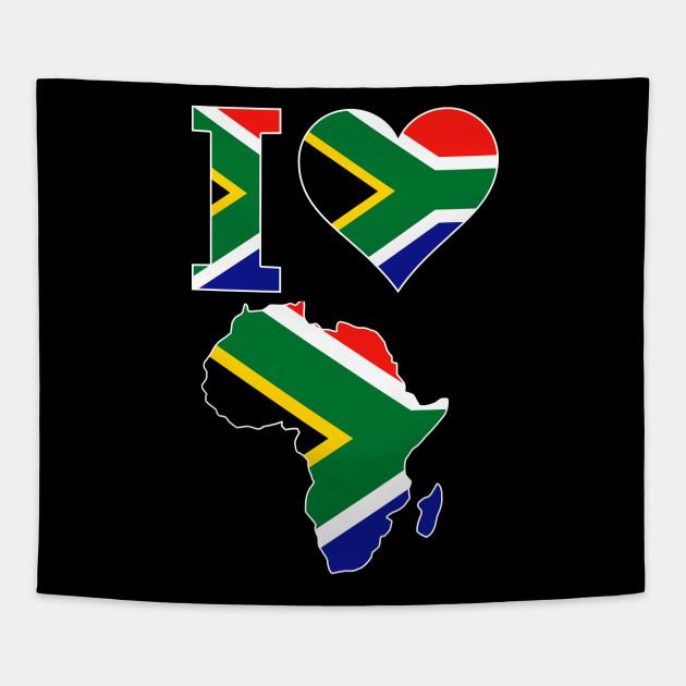 South Africa Flag In Africa Map.South African Pride I Love South Africa Flag Africa Map