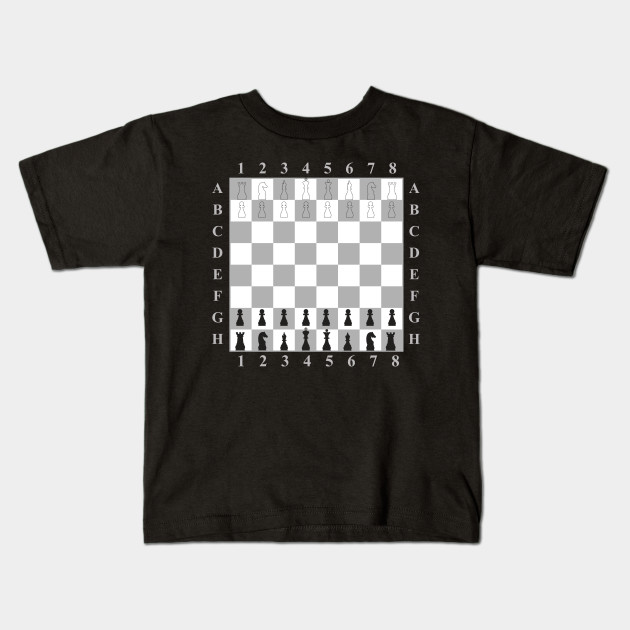 Chess Board Game Retro Computer Game Chess Lover T Shirt - Computer game design for kids