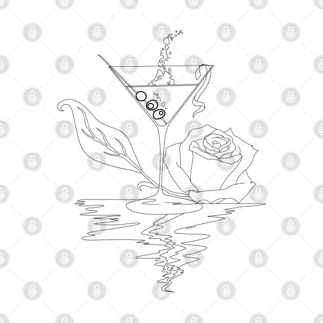 Martini and Rose Contour