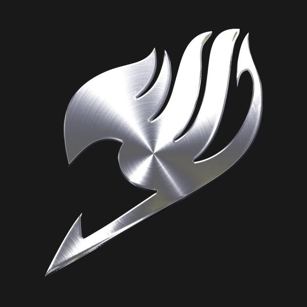 Metal Fairy Tail Guild Symbol - Anime - T-Shirt | TeePublic