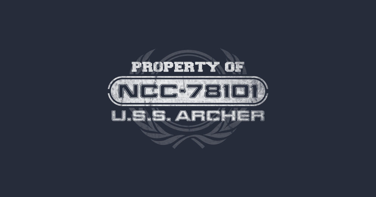 Vintage property of ncc78101 star trek t shirt teepublic for Property of shirt designs
