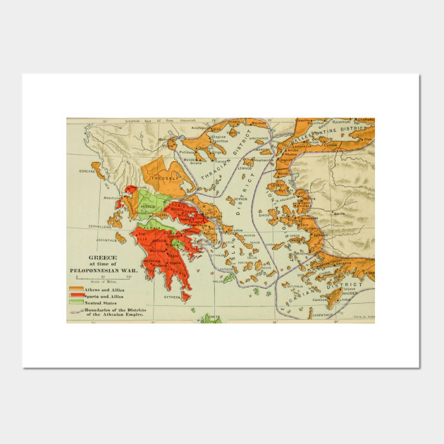 image relating to Printable Map of Ancient Greece identify Common Map of Historical Greece (1904)