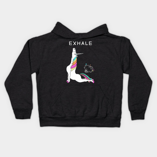 Exhale Yoga Unicorn With Rainbow