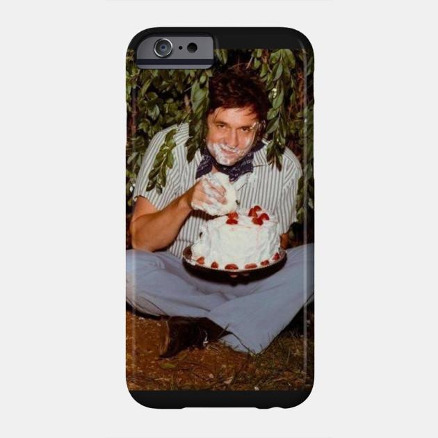 Johnnys Birthday Johnny Cash Phone Case Teepublic