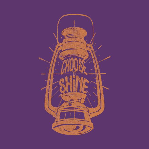 Vintage Oil Lamp - Choose To Shine II.